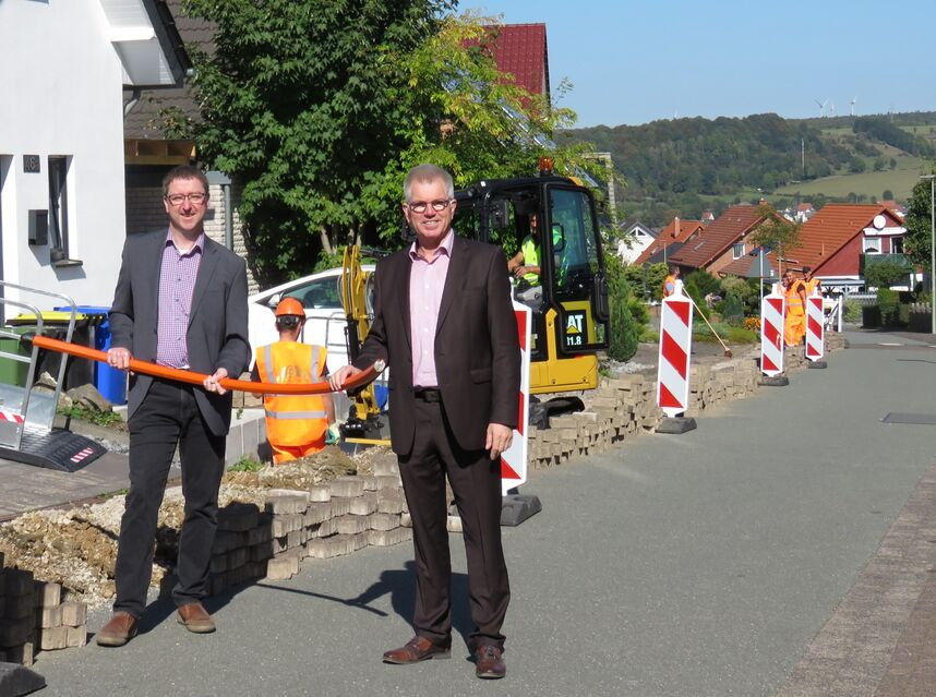 Start Glasfaserausbau in Altenbeken