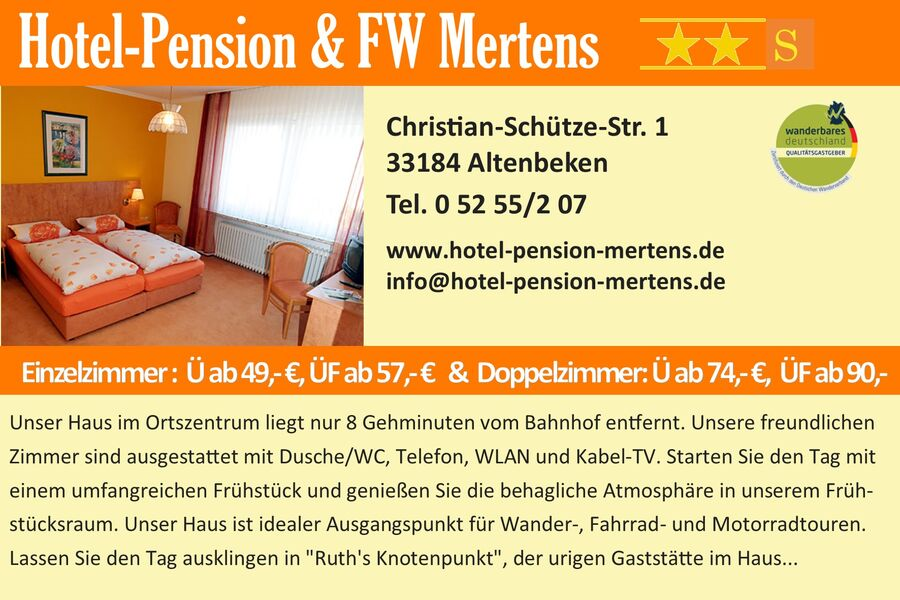 Hotel-Pension Mertens